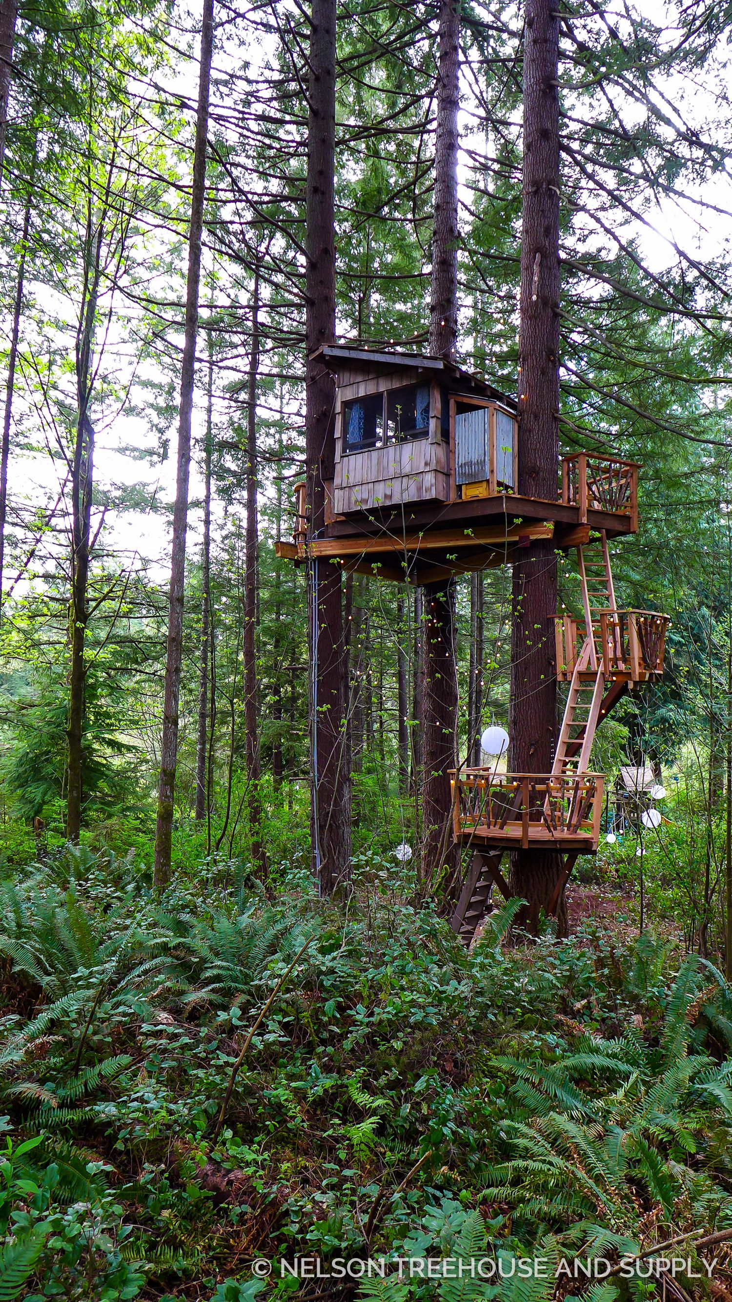 Classic treehouse ship s ladder DIY Tutorial