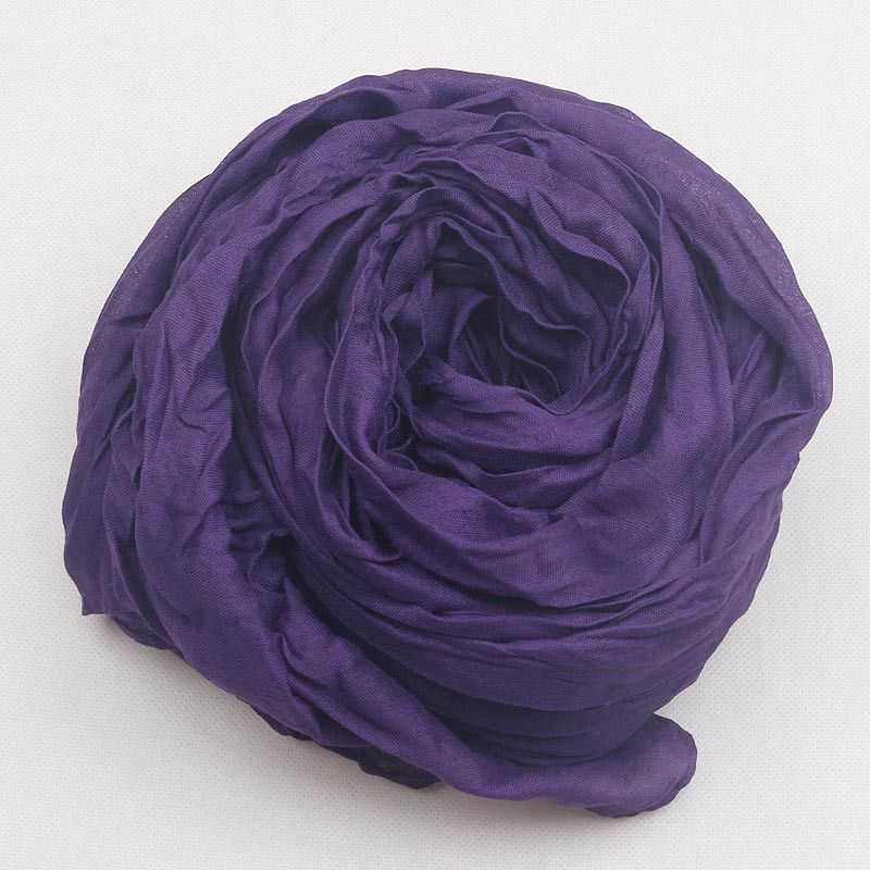 Elegant Long Feminine Cotton Scarf