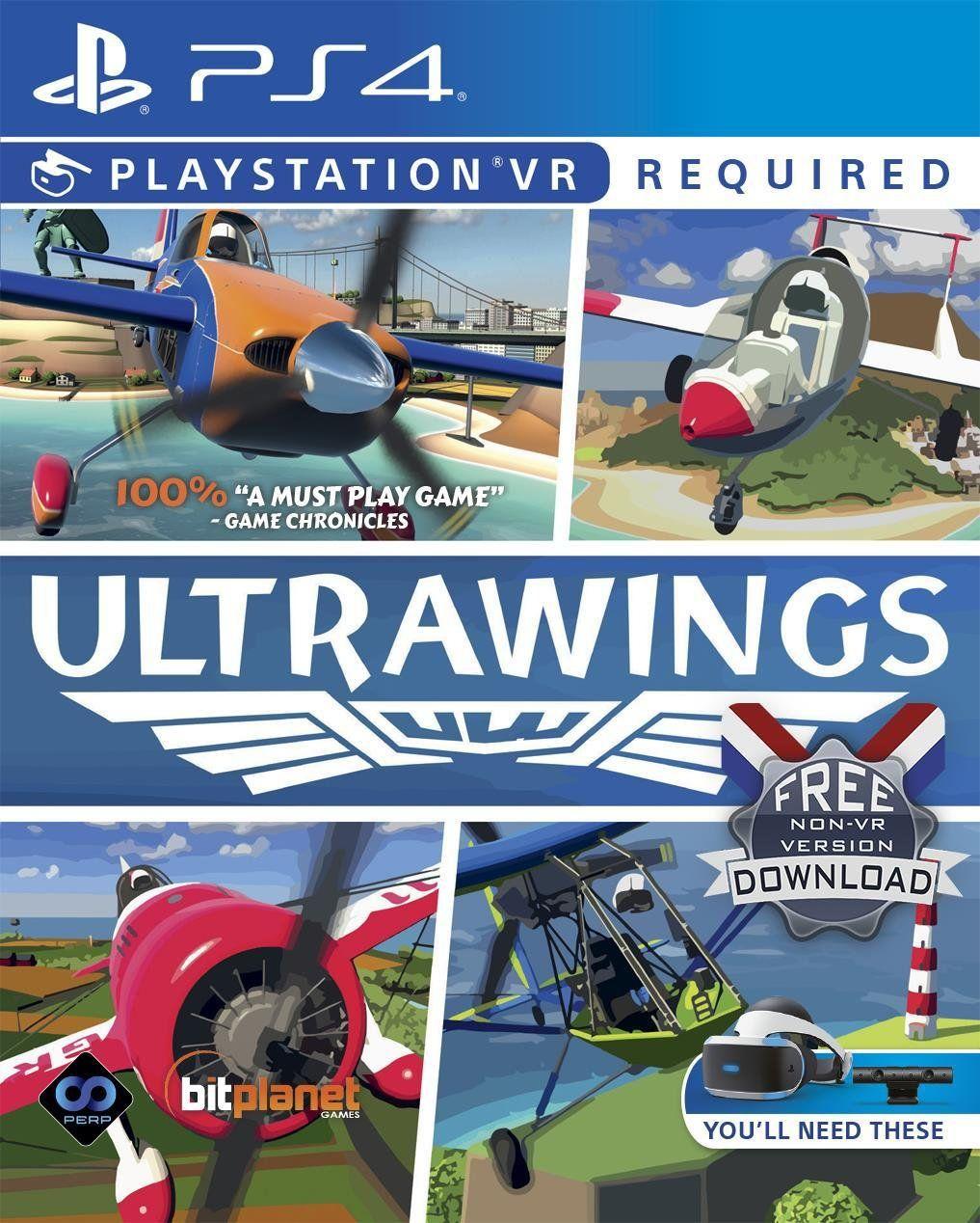 Buy Ultrawings PS VR Game (PS4) PS4 games Argos in