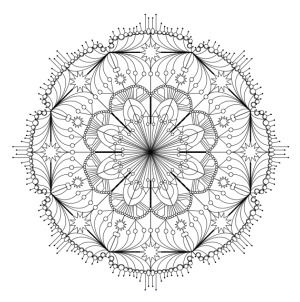 10 school holiday activities to do at home mandala for children to colour in - Picture To Colour In