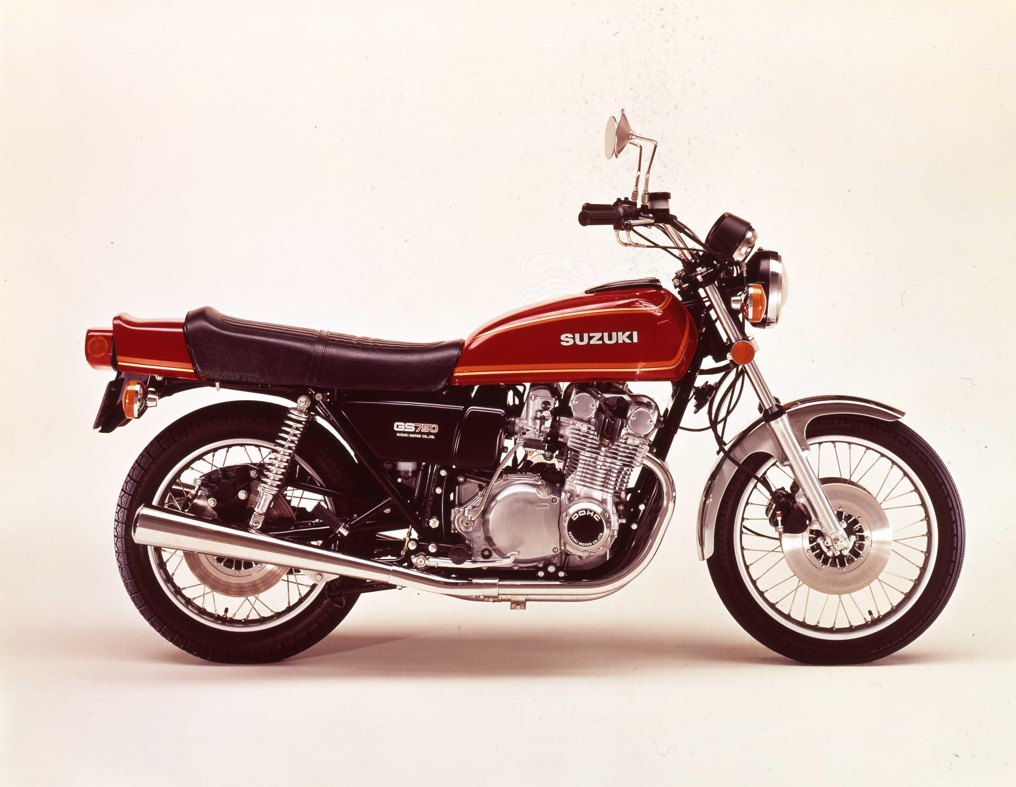 Suzuki 1976 Gs750 With Images Suzuki Motorcycle Super Bikes