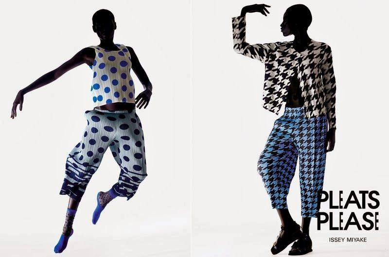 Issey Miyake Pleats Please Ad Campaign Fall/Winter 2013/2014