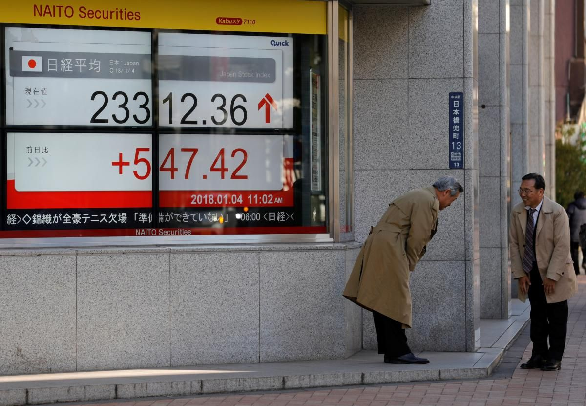 Asian shares step back from 2007 peak, oil at 3year high
