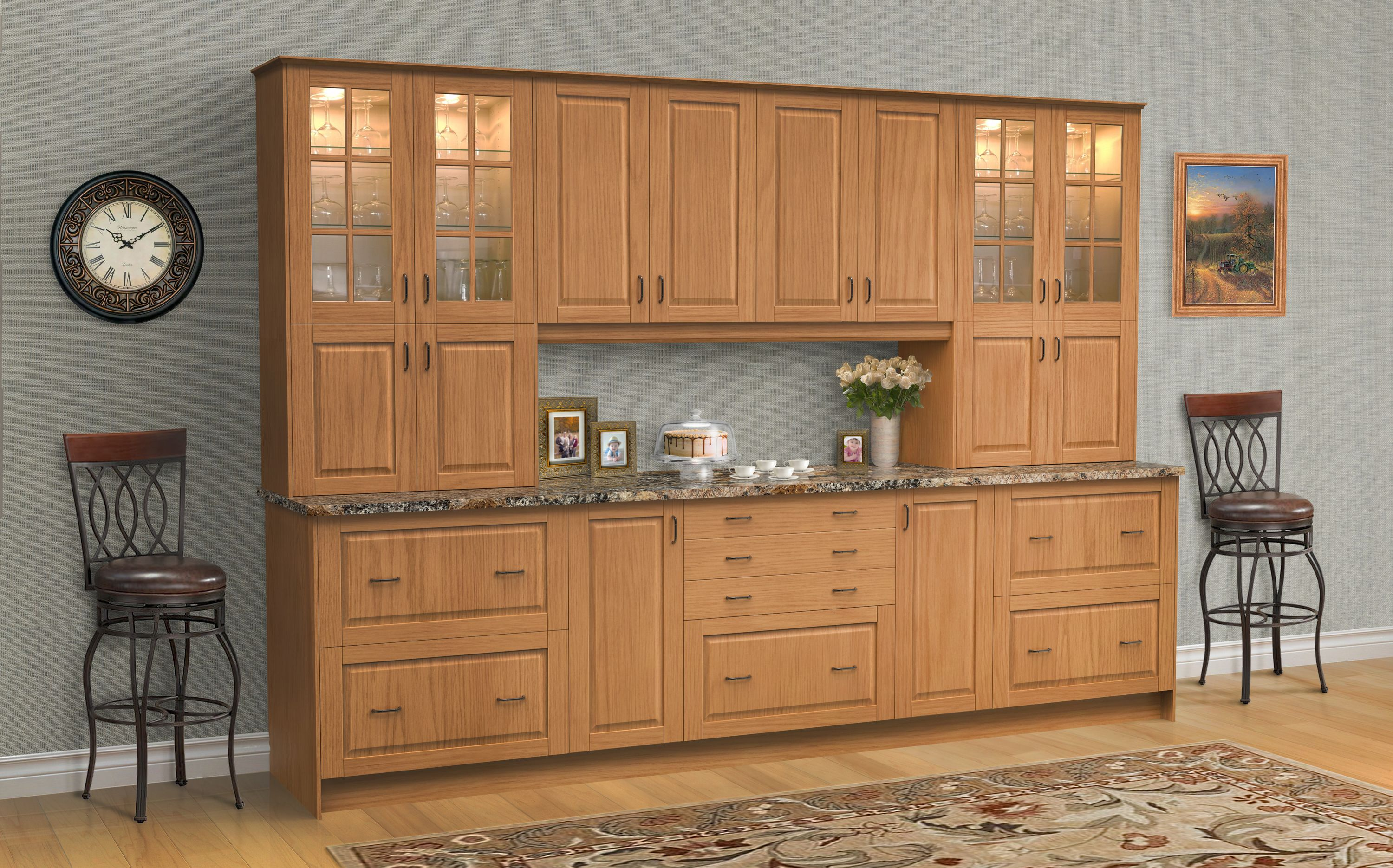 Pin On Dream Kitchens Klearvue Cabinetry