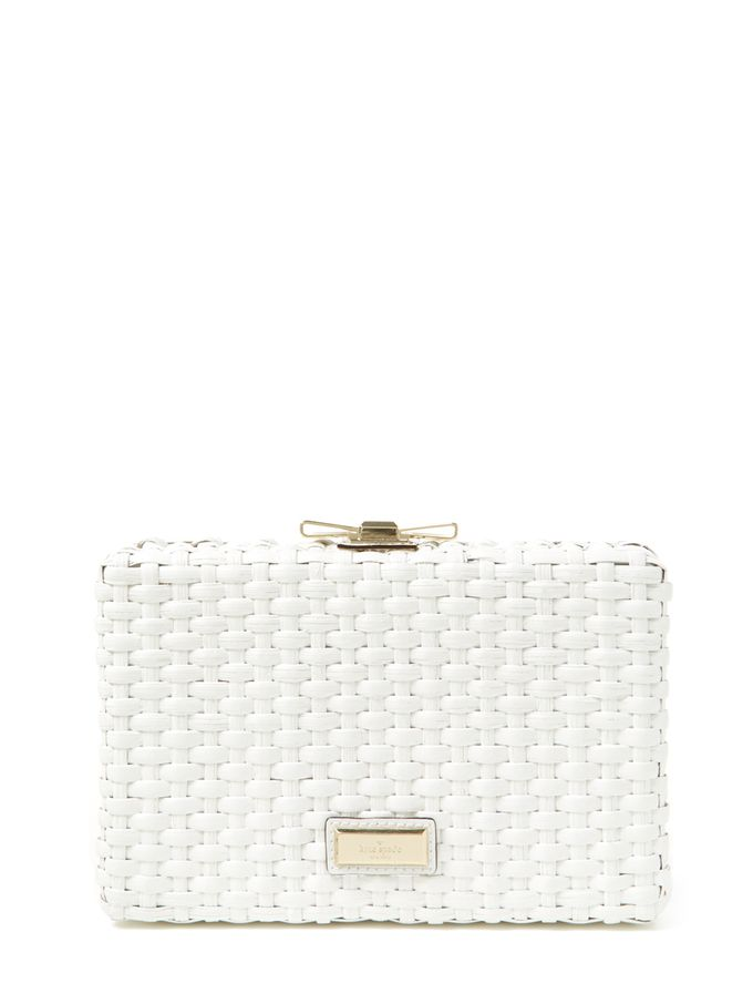 Right Bank Straw Emanuelle Converitble Clutch from kate spade new york Handbags on Gilt
