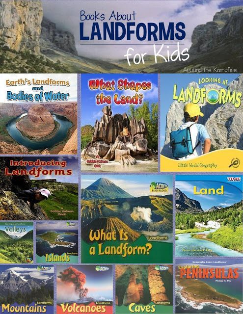 Learning And Writing About Landforms | Social Studies, Learning