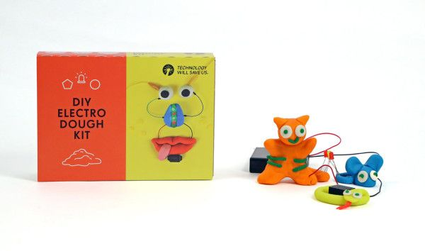 Electro Dough Kit – Make your own conductive and non-conductive dough using everyday household items.