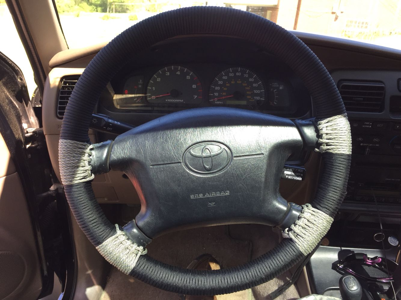 Diy Paracord Steering Wheel Project Steering Wheel Paracord