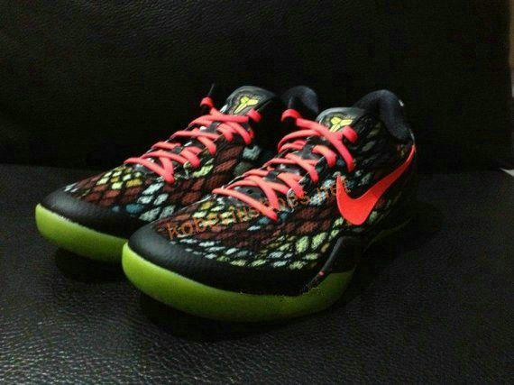 big sale d9bad ff9fb Kobe VIII shoes Kobe Viii(8) christmas snake only 65