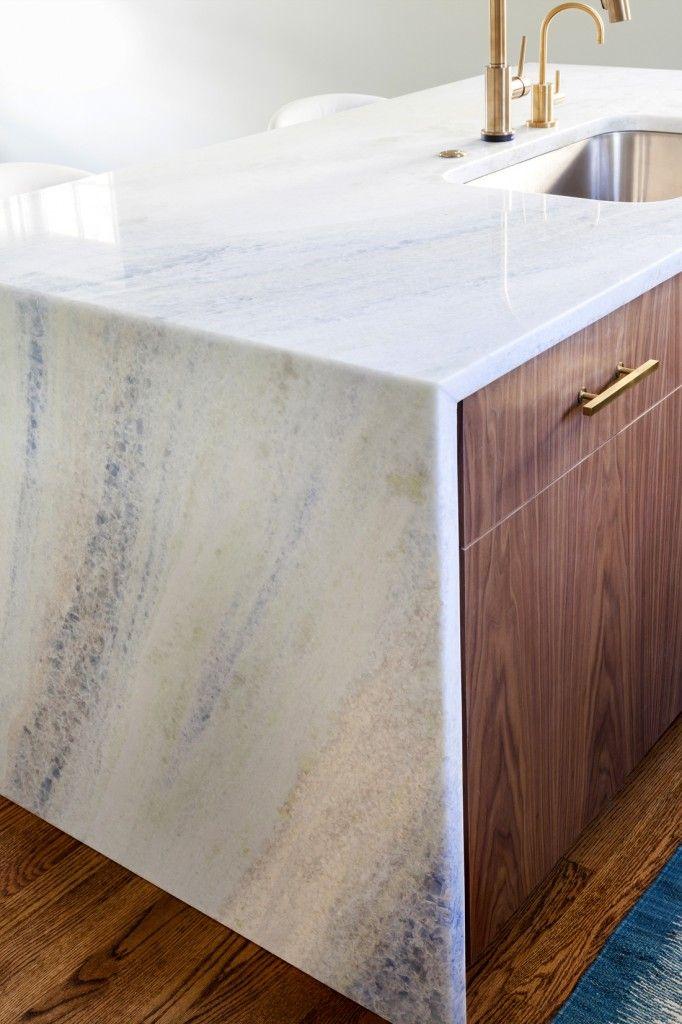 Kitchen Trends Waterfall Edge Counter Tops Countertop