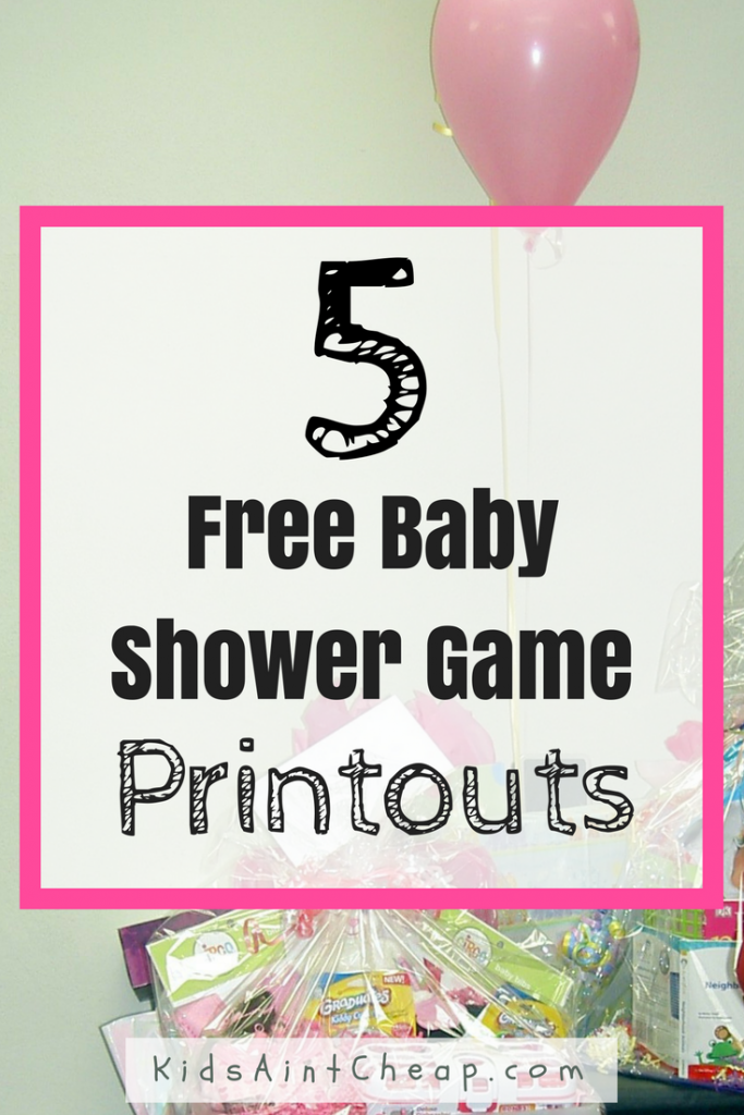 Free Printable Baby Shower Games That Wont Bore Your Guests