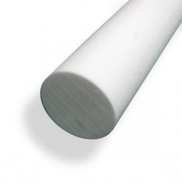 Barra Teflon Ptfe Redonda Acero Aluminio Cobre