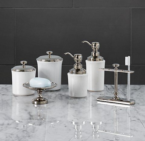 countertop accessories rh restoration hardware bathroombathroom