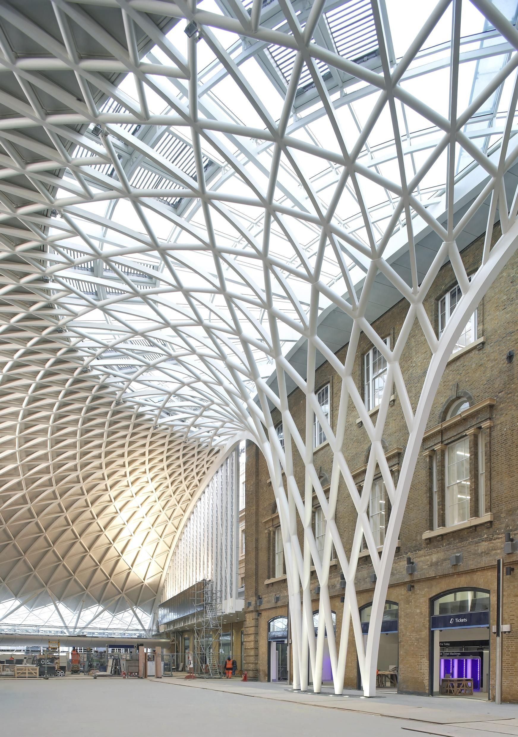 The Transformation Of Kings Cross Station By John Mcaslan +