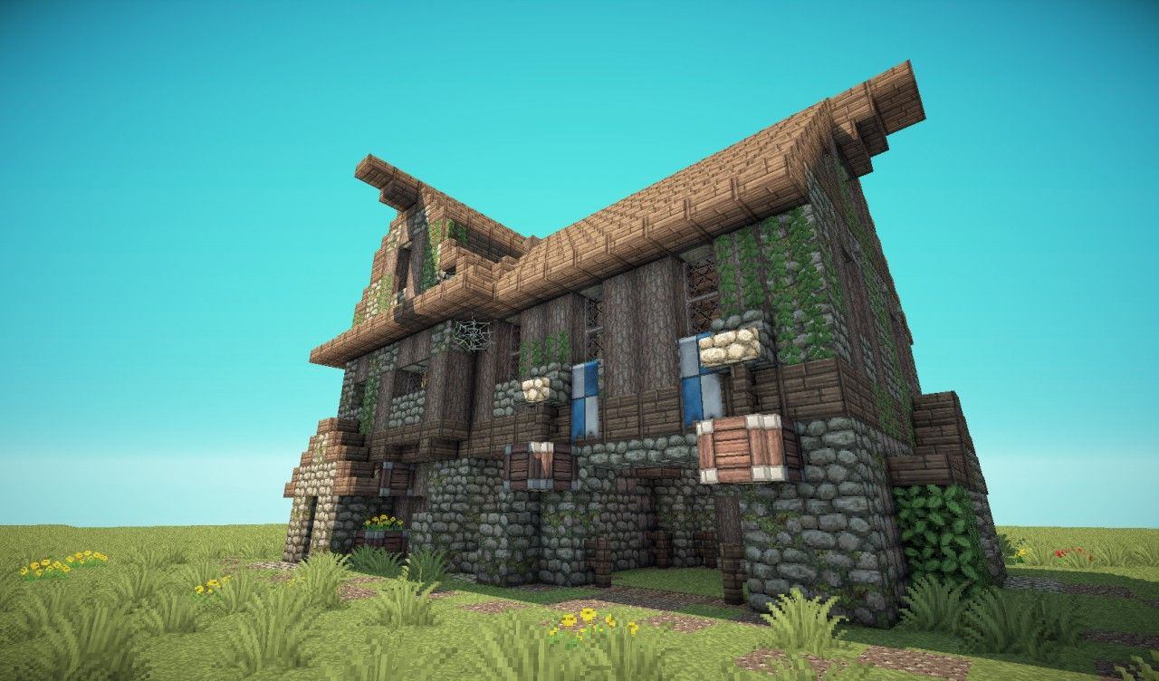 Minecraft Medieval Barn | Medieval Barn/House | Minecraft Ideas ... for Medieval Barn Minecraft  131fsj