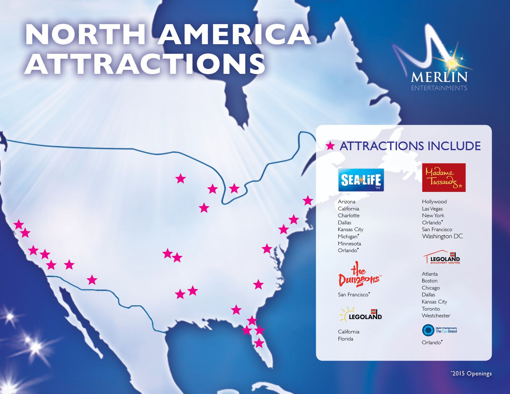 Merlin Entertainments North America Attractions Join the