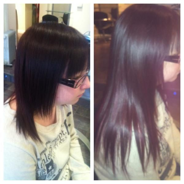 Racoon International Hair Extensions By Lindsey Canner Before And