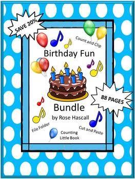 Birthday Theme Bundle Distance Learning Internet Activities Printable Worksheets Birthday Fun Kindergarten Special Education Fun Math