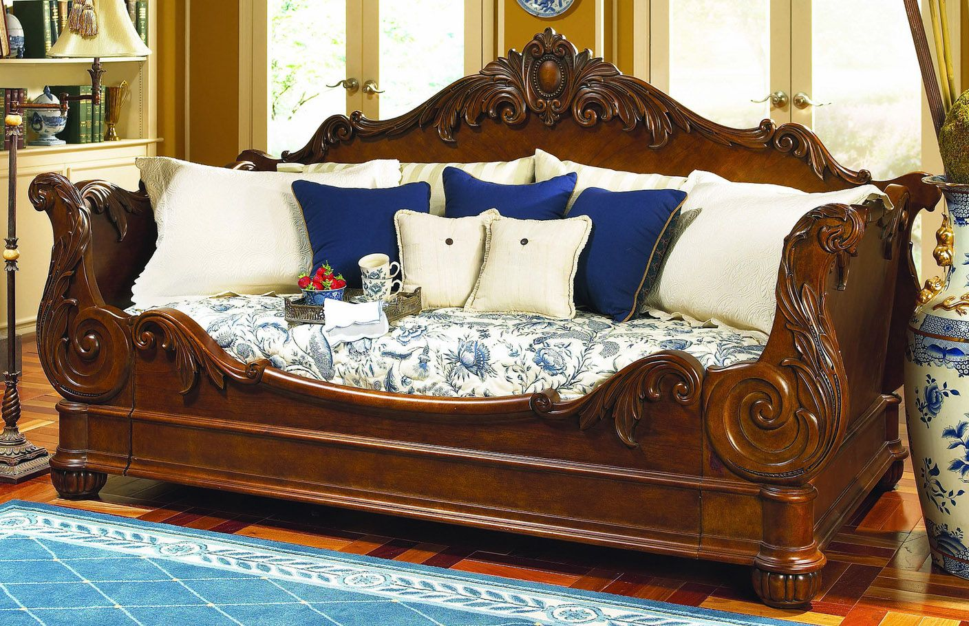 Pulaski Edwardian Daybed Image Daybed Victorian Style