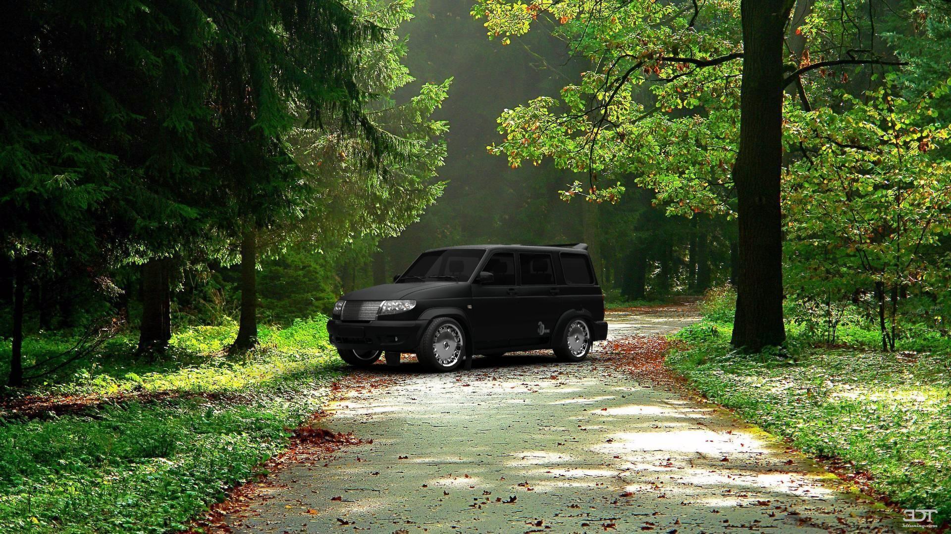 машина в лесу картинка для сможете распечатать