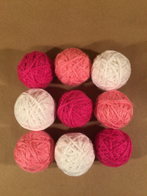 Decorative yarn balls bowl filler vase filler pink yarn balls decorative yarn balls bowl filler vase filler pink yarn balls deco balls reviewsmspy