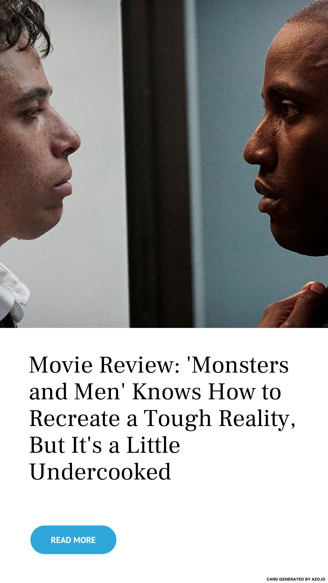 Movie Review Monsters And Men Knows How To Recreate A Tough Reality But It S A Little Undercooked Reality Tough Movies