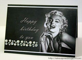 Re Kreasjoner Dt Charisma Diva Marilyn Monroe Birthday Happy Birthday To You Diva