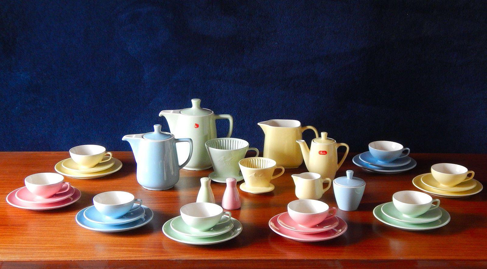 melitta minden melitta pinterest keramik pastell und porzellan. Black Bedroom Furniture Sets. Home Design Ideas