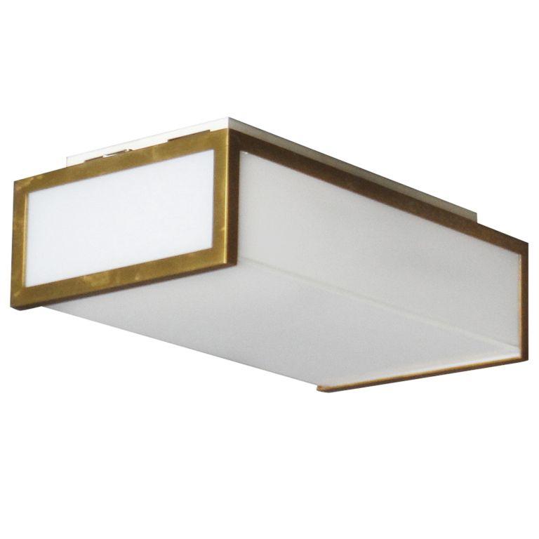rectangular flush mount ceiling light 30 inch small rectangular flush mount by jean perzel in 2018 david kitchen