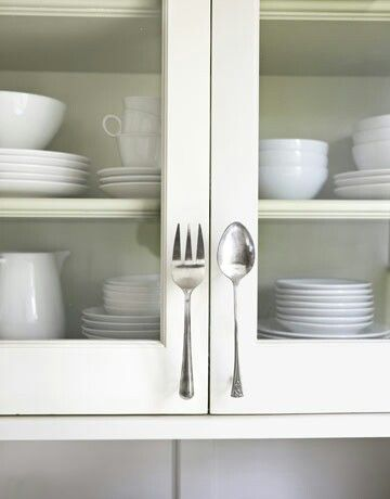 Spoon Cabinet Drawer Pulls