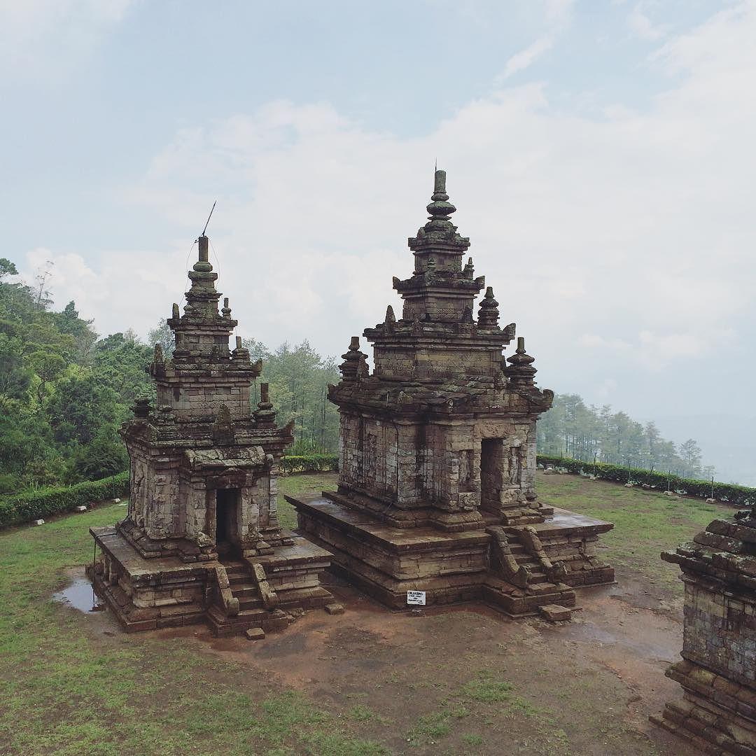 Candi Gedong Songo Gedongsongo Nature Panorama Bandungan
