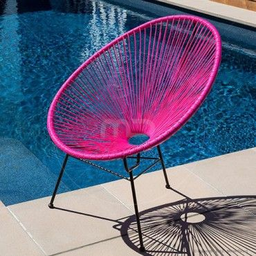 Acapulco Lounge Chair Replica Pink Huge Acapulco
