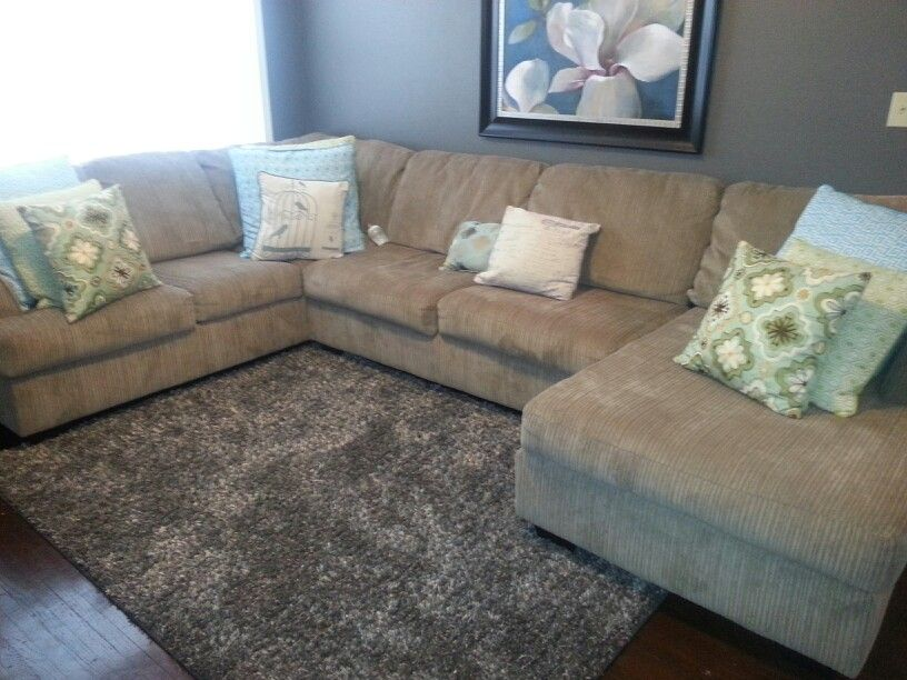 Best 3 Piece Sectional From Big Lots Gray Sh*G Area Rug From Target For The Living Room Gray 400 x 300