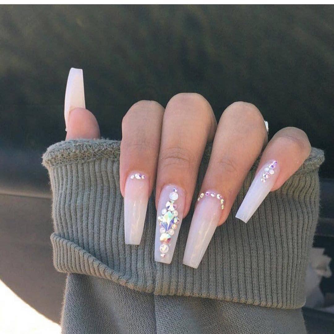 Watch The Best Youtube Videos Online White Nails Baddie Tingzzzzz Baddiealert Longnails Nike F White Acrylic Nails Long Acrylic Nails Cute Acrylic Nails