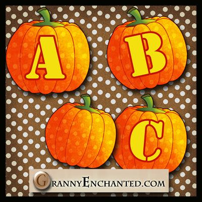 Free Pumpkin Digi Scrapbook Alphabet ***Join 1,480 people and follow our Free Digital Scrapbook Board. New Freebies every day.