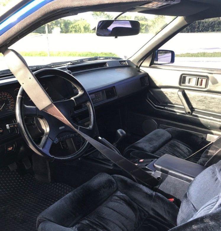 Fiji Blue Metallic Claimed 54k Mile 1989 Chrysler Conquest Tsi