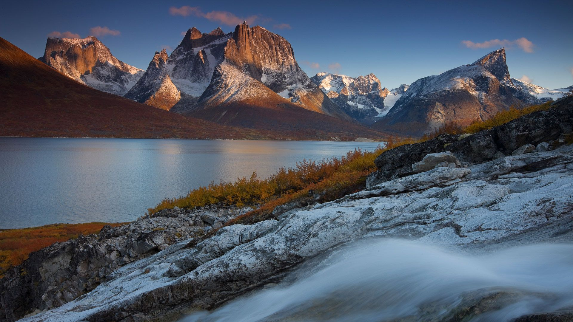 Windows Spotlight Oc 1920x1080 Greenland Travel Beautiful Landscape Photography Scenery