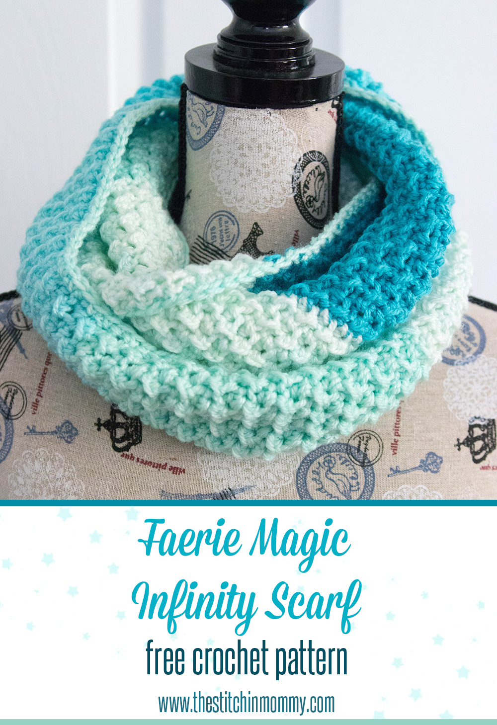 Faerie Magic Infinity Scarf - Free Crochet Pattern | Schal stricken ...