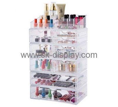 Customized Clear Makeup Organizer Tabletop Makeup Organizer Makeup Drawer  Organiser CO 299