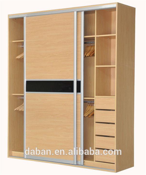 M s de 25 ideas incre bles sobre roperos modernos en for Closet de madera para dormitorios