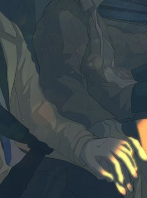 Roadtrip (GIF) by L-a-m-o-N gotta love some good destiel art!