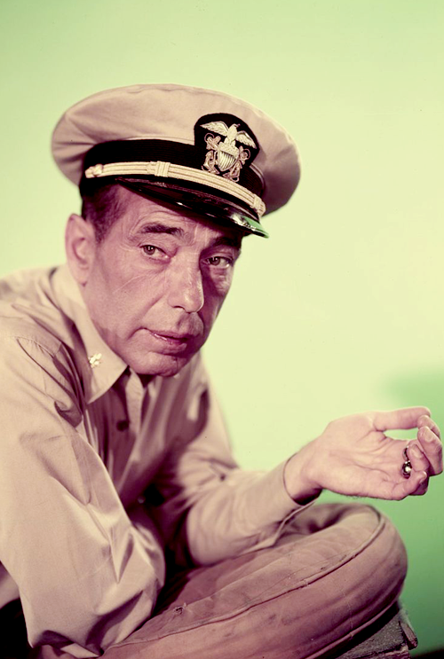 Humphrey Bogart (The Caine Mutiny, 1954).