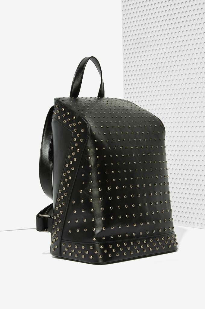 Black Out Studded Backpack - Bags + Backpacks   Newly Added   Bags + Backpacks