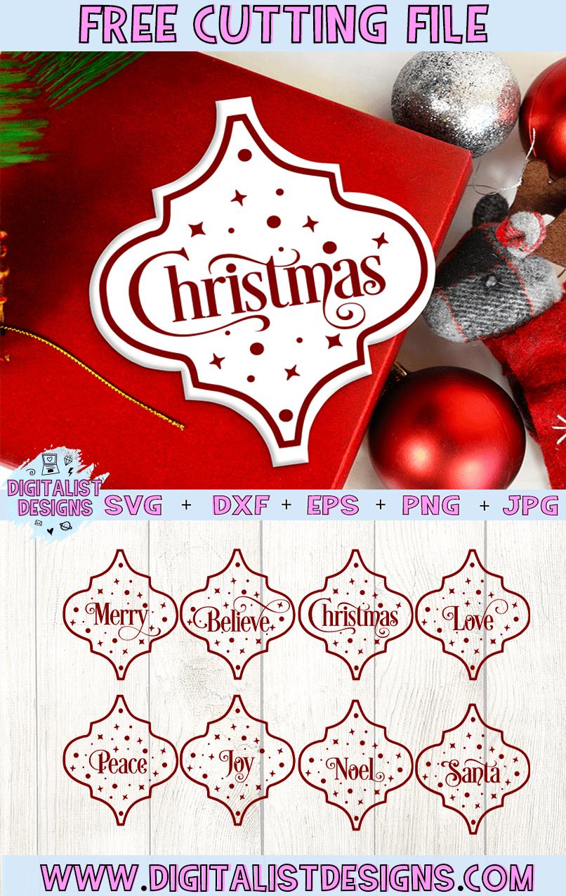 Free Arabesque Tiles Svg Bundle Digitalistdesigns Arabesque Tile Cricut Ornaments Christmas Svg Files