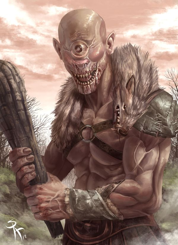 Cyclopes Greek Myth A Primordial Race Of Giants Each With A Single Eye In The Middle Of His Greek And Roman Mythology Mythological Creatures Greek Monsters