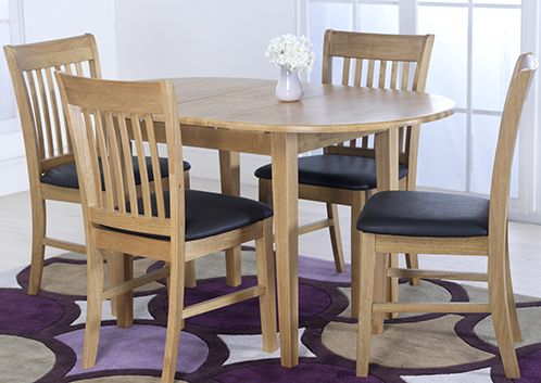 Cleo Table 4 Cleo Dining Chairs Set Oak Dining Sets Dining