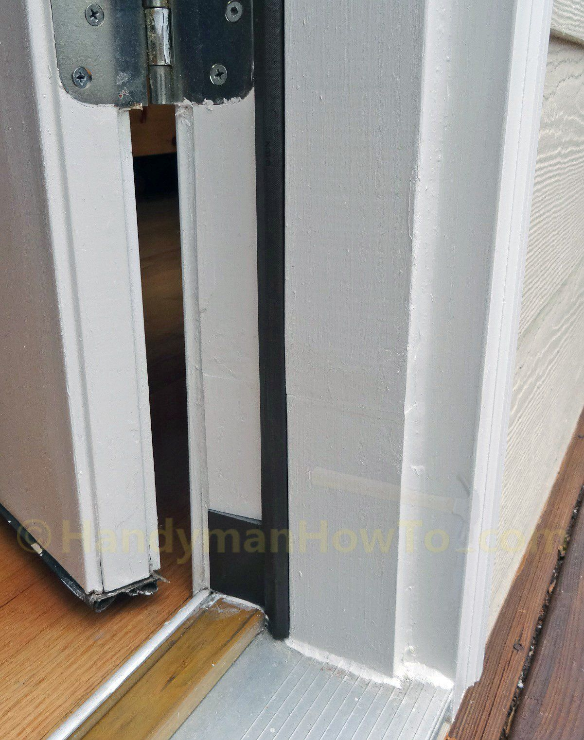Rotted Exterior Door Frame Finished Repair Tn Home In