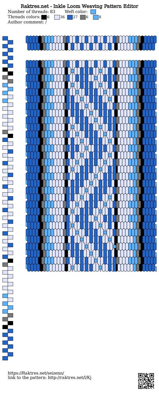 Inkle Loom Pattern Editor Pickup Inkle Loom Inkle Weaving