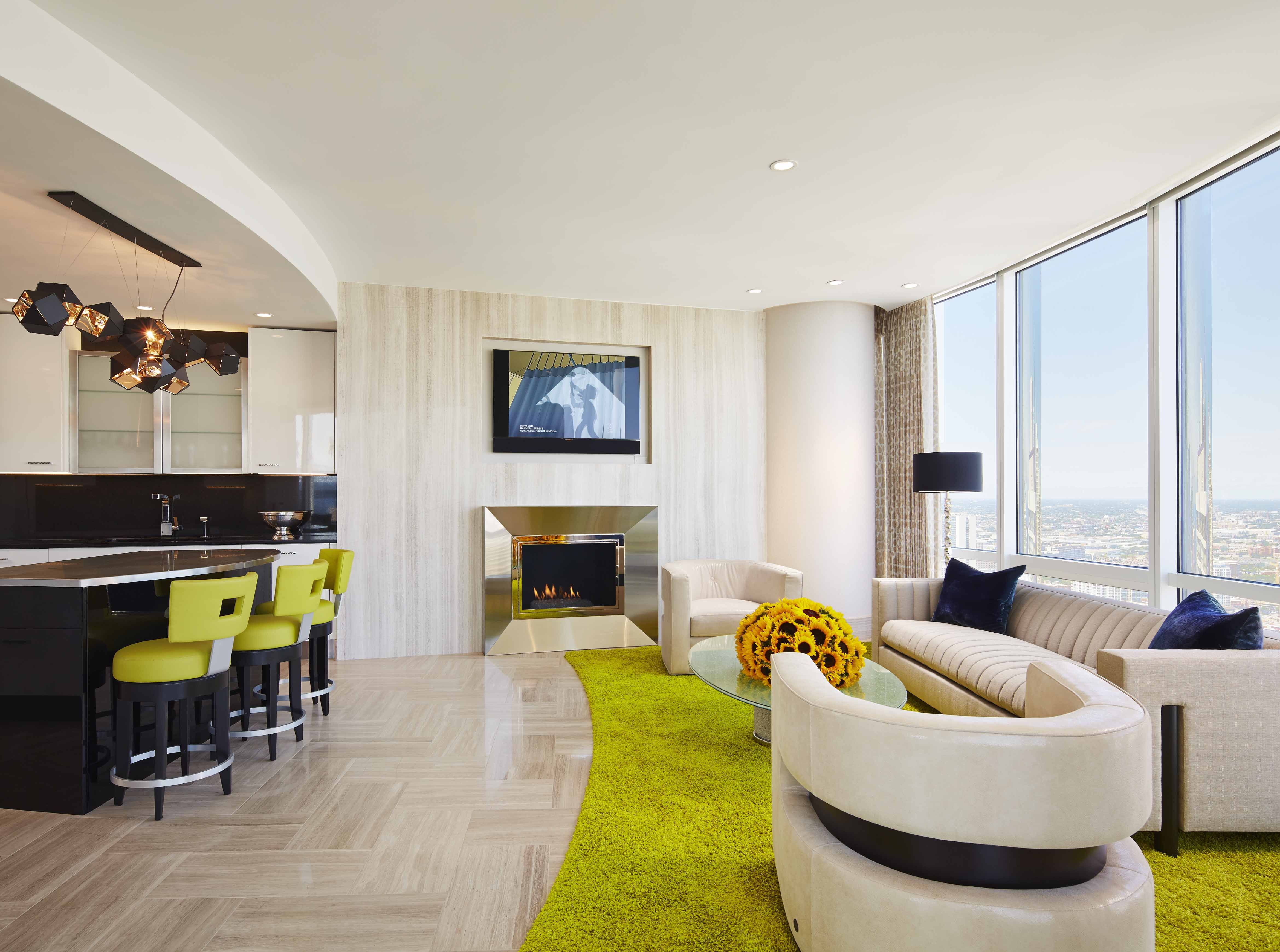 Get Inside Trump Towers Interior Design in Chicago | Tower, Chicago ...