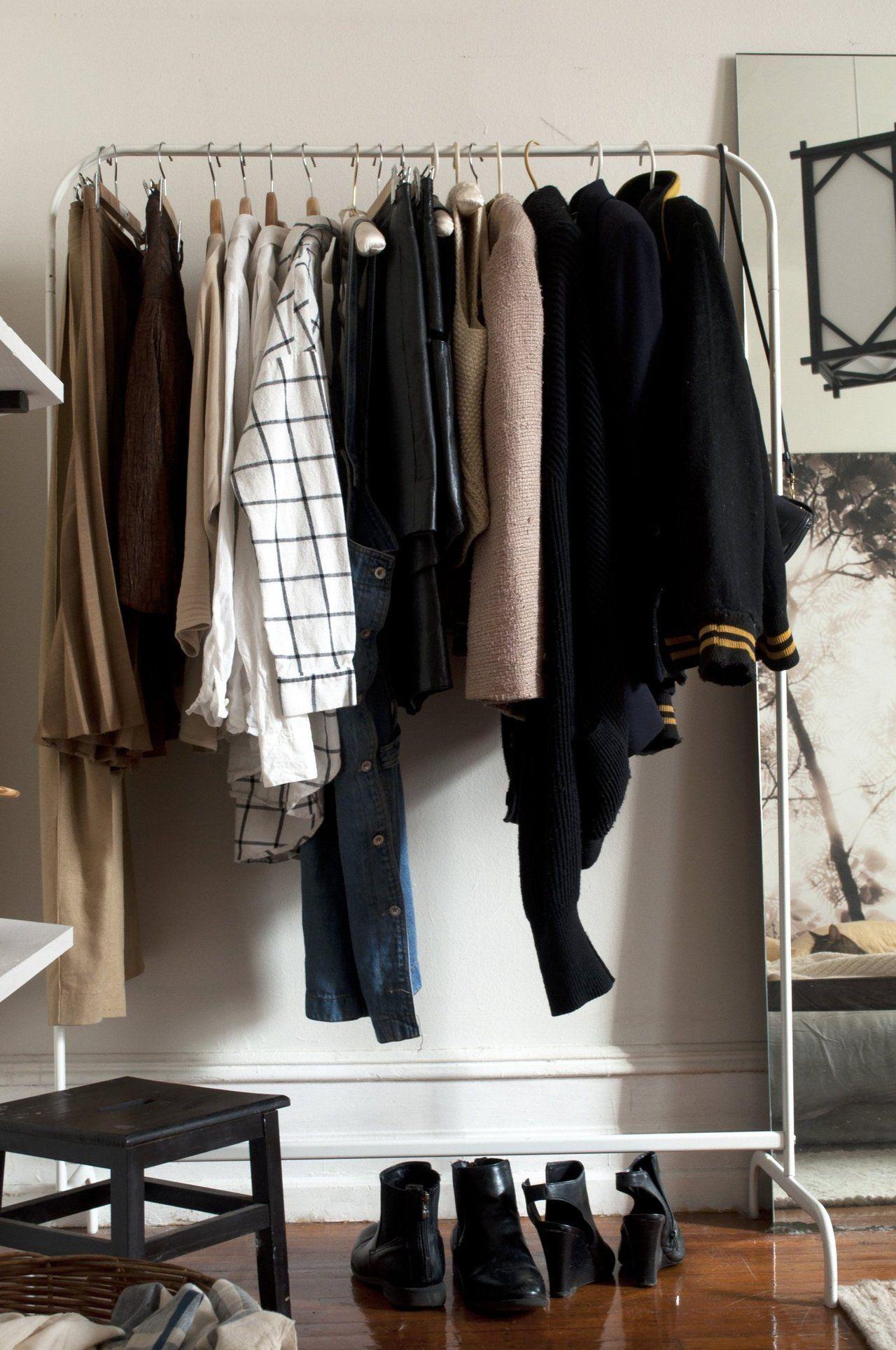 Clothes rack Shannon u0026 Alexu0027s Artistic Apartment